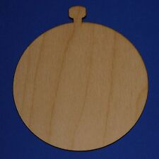 Pocketwatches Unfinished Wood Shapes PW383 - Crafts Cut Outs Variety of Sizes