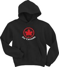 Air Canada Retro Logo Canadian Airline Hoody