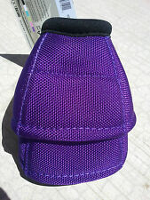 DY-NO Ballistic No Turn Bell Boots Horse Tack PURPLE