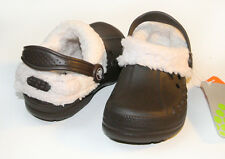 Crocs Kids Blitzen Chocolate Oatmeal C6/7 C8/9 C10/11 C12/13 J1 2 3 $30 CLEARANC