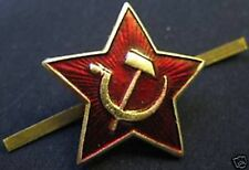 Soviet Union Original Red Star Badges Pre 1991 Very collectable special price
