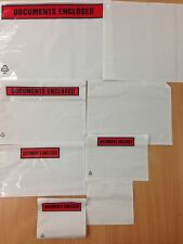 A7 A6 A5 A4 DL PRINTED & PLAIN DOCUMENT ENCLOSED ENVELOPES / WALLETS + 24H DEL