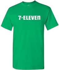 7-ELEVEN T-shirt 7-11 Funny POP PARTY Vintage COOL Tee