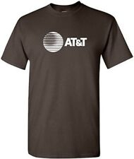 AT&T T-shirt 80s Vintage LOGO Funny COOL GEEK Phone TEE