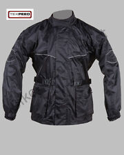 Texpeed Quality Black Waterproof Motorcycle Bike Cycling Rain Over Jacket