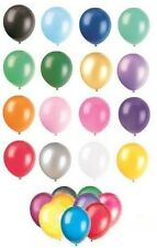 Latex Balloons - 30 COLOURS in 4 SIZES (Party Decorations){fixed £1 UK p&p}