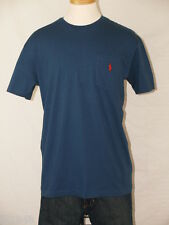 Polo Ralph Lauren Navy Pocket T-Shirt Polo Pony  M L XL XXL NWT