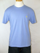 Polo Ralph Laren Blue Pocket T-Shirt Polo Pony 100% Cotton  M L XL XXL NWT