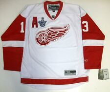 PAVEL DATSYUK DETROIT RED WINGS 08 CUP REEBOK PREMIER AWAY JERSEY