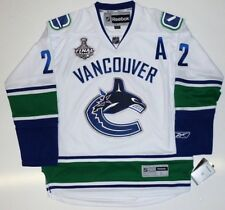 DANIEL SEDIN VANCOUVER CANUCKS AWAY 2011 CUP JERSEY