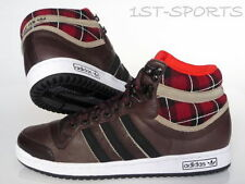 ADIDAS ORIGINALS MENS TRAINERS, SHOES TOP TEN HI UK 6.5 to 9.5 BROWN