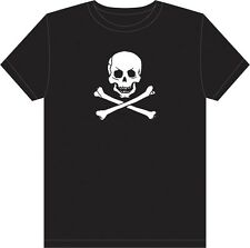 Pirate T-Shirt Edward England Skull & Crossbones Jolly Roger Tee Shirt tshirt