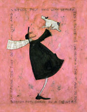 SAM TOFT - HAVING THE TIME OF MY LIFE ART PRINT WITH FRAME OPTIONS OR AS CANVAS