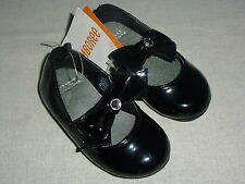 Gymboree FESTIVE CELEBRATIONS Black Bow Gem Slip On Dress Shoes NWT Party Church
