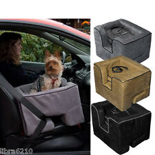 Dog Cat Booster Car Seat Truck Van Medium Large Black Tan Gray NEW
