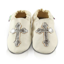 Christening First Leather Baby/Toddler/Kids Shoes,Size from Birth To 3 Years
