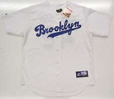 JACKIE ROBINSON BROOKLYN DODGERS COOPERSTOWN THROWBACK MAJESTIC JERSEY