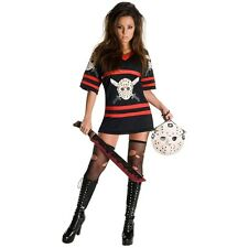 Miss Voorhees Costume Adult Friday the 13th Jason Halloween Fancy Dress