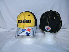 Pittsburgh Steelers Womens Sizes NFL Hat  Baseball Cap Football Black & Gold New