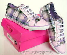 GIRLS PASTRY CARMELLA KIDS LILAC CANVAS TRAINERS, SHOES, PUMPS