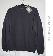 Page & Tuttle Round Neck Pullover (Men's, Purple, Full Sleeves) Golf Jacket NEW