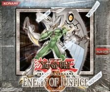 Yu-gi-oh Enemy Of Justice Rares Mint Deck Card Selection