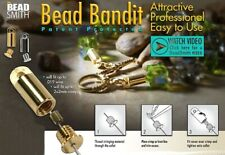 2 OR 36 Silver OR Gold Plated Bead Smith Bead Bandits * Hides Crimp Bead OR Knot
