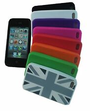 SOFT SILICONE iPHONE COVER CASE FOR VARIOUS APPLE iPHONE 4 / 4S / 5 GALAXY S2