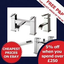 Epic - Modern Mixer Basin, Bath and Shower, Lever Taps Range in Chrome