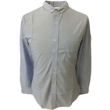French Connection Fcuk Mens Long Sleeve Shirt Chambray Blue M L XL