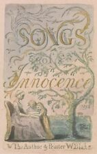 Songs Innocence Experience 2 Innocence Title Page Bentley 3 William Blake 1789 A