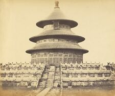 Sacred Temple Heaven Where Emperor Sacrifices Once Year Chinese City Pekin Octob