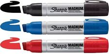 Sharpie Magnum Metal Barrel PERMANENT MARKER PUNTA SCALPELLO