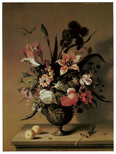 1170.Floral painting wall Art Decoration POSTER.Graphics to decorate home office