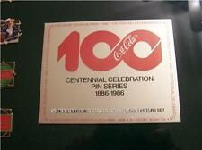 RARE Coke  1000  MADE SET of 101 Coca Cola PIN LTD PINS 100 Bottle Bear