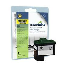 Remanufactured No.17 Black Ink Cartridge for Lexmark Z13 Printer & more