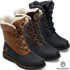 Rockport Lux Lodge Snow Boot Winter Waterproof Fur Lined Mens New 7 8 9 10 11 12