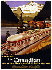 399.Travel the Canadian Art Decorarive POSTER.Graphics to decorate home office.