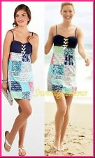 NWT $178 Lilly Pulitzer Adorable Rilee Multi Sailor Patch Sun Dress Style# 32831