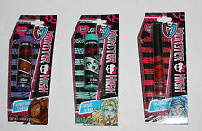 Monster High Girls Lip Gloss .04 oz Or Lip Balm .15 oz NIP several flavors