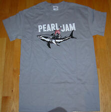 PEARL JAM Gray Shirt 2012 SHARK COWBOY TOUR many sizes