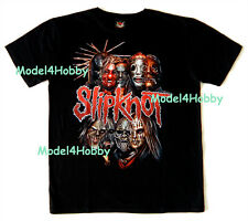 SLIPKNOT T-Shirt Black M L XL ROCK HEAVY METAL BAND MUSICIAN SCARY MASK TATTOO