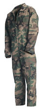 FLIGHTSUIT WOODLAND CAMO USAF STYLE COVERALL ROTHCO 7003