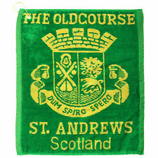 (Free PnP) Old Course St Andrews Golf Towel (40cm x 50cm)