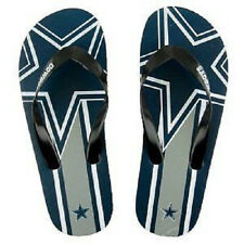 Flip Flop Dallas Cowboys NFL Unisex Logo Flip Flops BRAND NEW Sandals