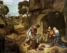 Photo Print The Adoration of the Shepherds Giorgione - in various sizes jwg-5084