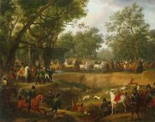 Photo Print Napoleon on a Hunt in the Forest of Compigne Vernet, Carle - in v