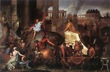 Photo Print Entry of Alexander into Babylon Le Brun, Charles - in various sizes