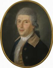 Photo Print: Portrait Of A Man In A Powdered Wig #jwnh3629