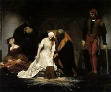 Photo Print The Execution of Lady Jane Grey Delaroche, Paul - in various sizes j